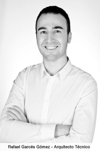 Rafael Garcés Gómez - Arquitecto Técnico Alcañiz